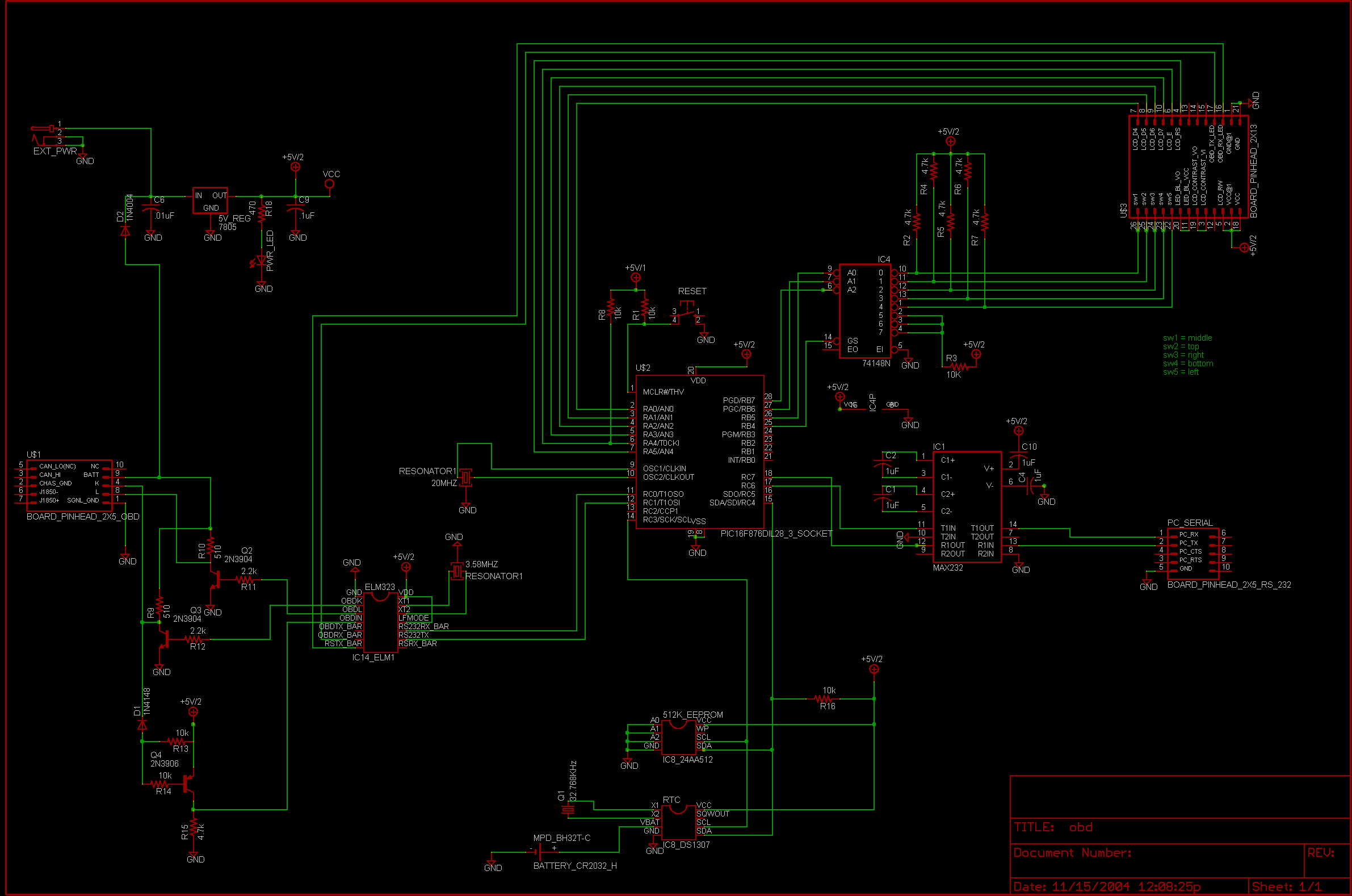 obd schematic elec intro website the obd cable for adapter is it the right adapter for my car connecting and testing schematic out mc33290 and mc33390 project overview >